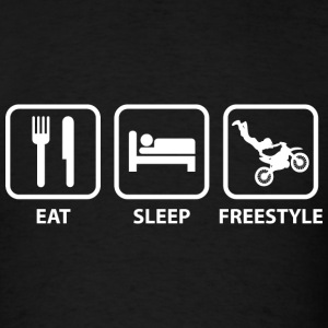 Eat Sleep Freestyle - Men's T-Shirt