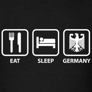 Eat Sleep Germany - Men's T-Shirt
