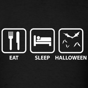 Eat Sleep Halloween - Men's T-Shirt