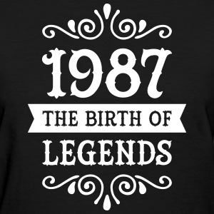 1987 - The Birth Of Legends Women's T-Shirts - Women's T-Shirt