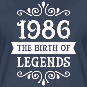 1986 - The Birth Of Legends Women's T-Shirts - Women's Premium T-Shirt