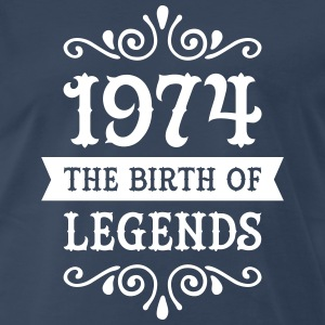 1974 - The Birth Of Legends T-Shirts - Men's Premium T-Shirt