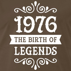1976 - The Birth Of Legends T-Shirts - Men's Premium T-Shirt