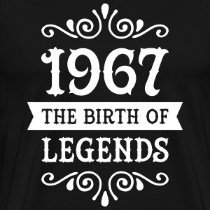 1967 - The Birth Of Legends T-Shirts - Men's Premium T-Shirt