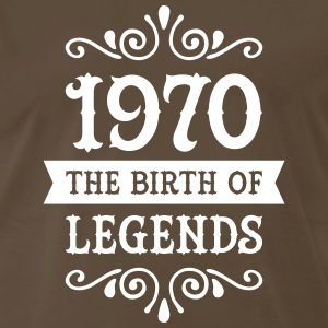 1970 - The Birth Of Legends T-Shirts - Men's Premium T-Shirt