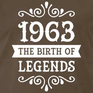 1963 - The Birth Of Legends T-Shirts - Men's Premium T-Shirt