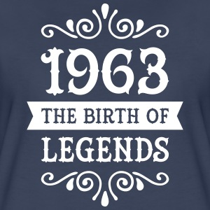 1963 - The Birth Of Legends Women's T-Shirts - Women's Premium T-Shirt