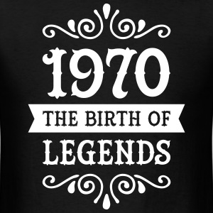 1970 - The Birth Of Legends T-Shirts - Men's T-Shirt