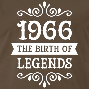 1966 - The Birth Of Legends T-Shirts - Men's Premium T-Shirt