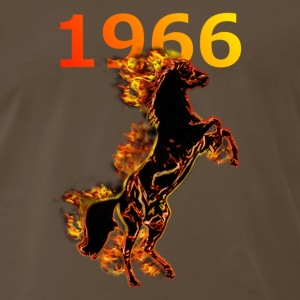 BORN 1966 T-Shirts - Men's Premium T-Shirt