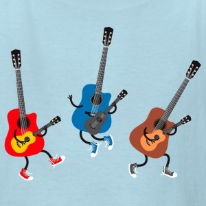 Dancing guitars - Kids' T-Shirt