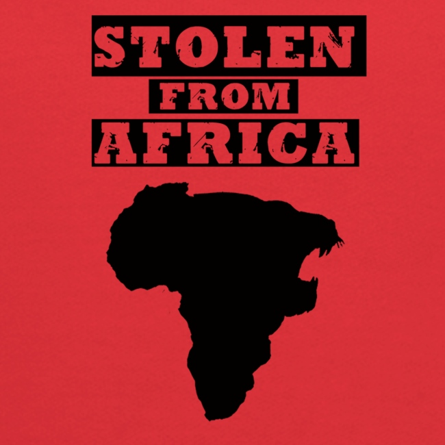 Stolen From Africa Kids Hoodie (Blue Logo)