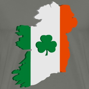 Ireland map T-Shirts - Men's Premium T-Shirt
