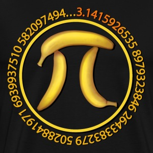 Banana Pi, Pie - Men's Premium T-Shirt