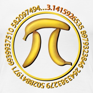 Banana Pi, Pie - Women's Premium T-Shirt