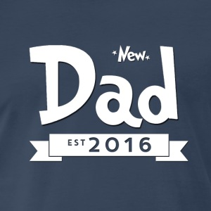New Dad 2016 - Men's Premium T-Shirt
