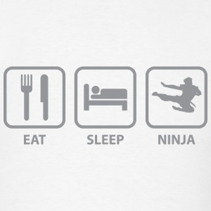 Eat Sleep Ninja - Men's T-Shirt