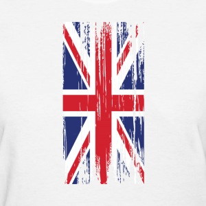 worn british flag Women's T-Shirts - Women's T-Shirt