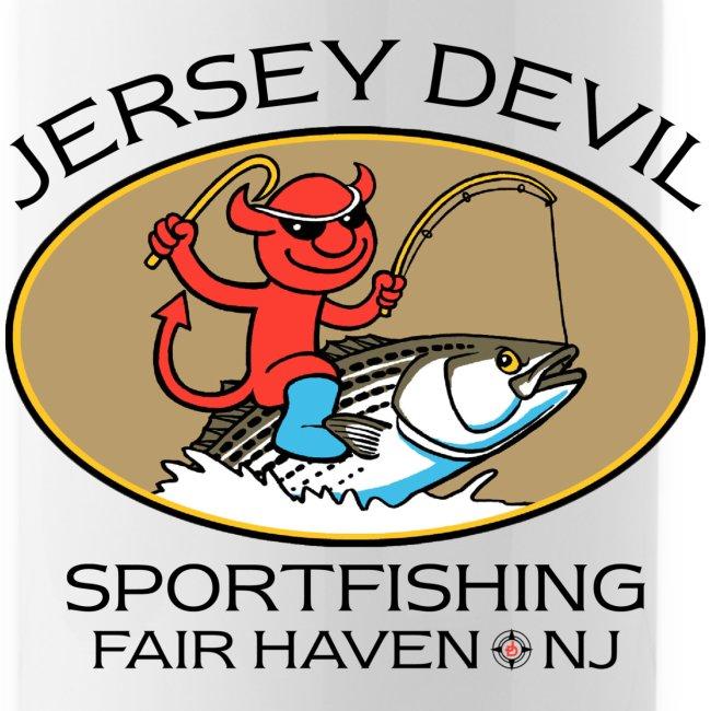 Jersey Devil Water Bottle: Striper