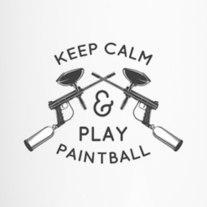 Keep calm and play paintball Mugs & Drinkware - Travel Mug