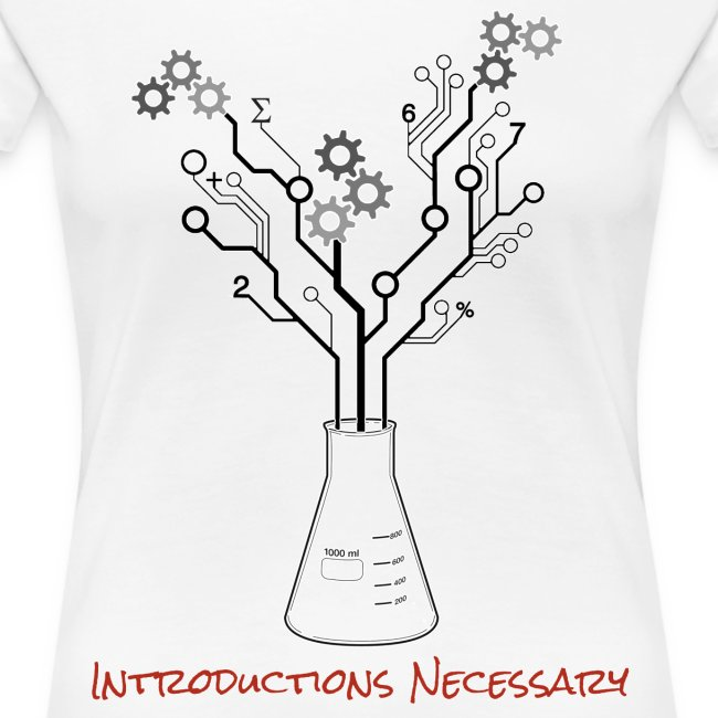 Introductions Necessary Logo T-Shirt