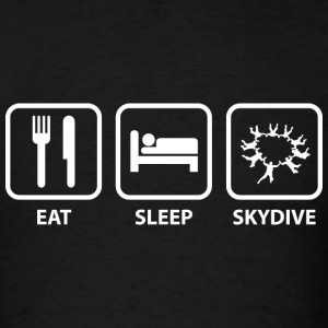 Eat Sleep Skydive - Men's T-Shirt
