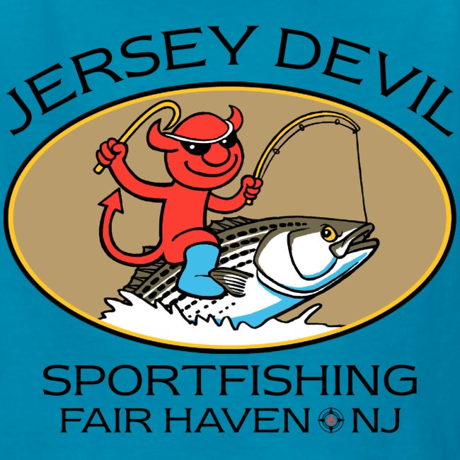 Jersey Devil Kid's T-shirt: Striper