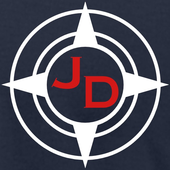 Jersey Devil Men's T Navy: Front GFX