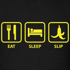 Eat Sleep Slip - Men's T-Shirt