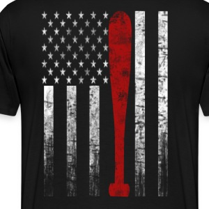 Baseball Flag - Men's Premium T-Shirt
