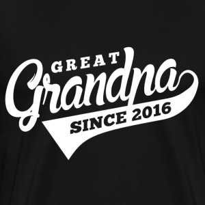 Great Grandpa Since 2016 T-Shirts - Men's Premium T-Shirt