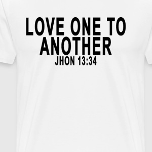 love_one_another_tshirts - Men's Premium T-Shirt