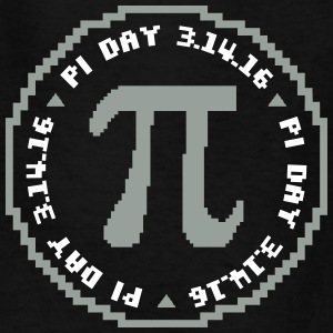Pi Day Pixel 3 14 16 Kids' Shirts - Kids' T-Shirt
