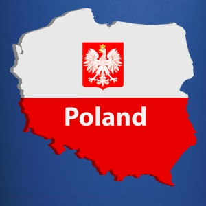Poland map Mugs & Drinkware - Full Color Mug