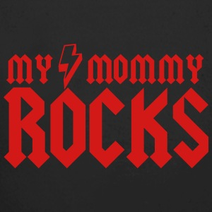 My Mommy Rocks Baby Bodysuits - Long Sleeve Baby Bodysuit