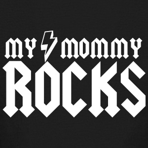 My Mommy Rocks Kids' Shirts - Kids' Long Sleeve T-Shirt