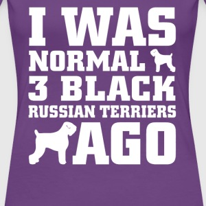Black Russian Terriers - Women's Premium T-Shirt