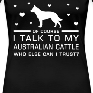 Australian Cattle - Women's Premium T-Shirt