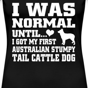 Australian Stumpy Tail Cattle Dog - Women's Premium T-Shirt