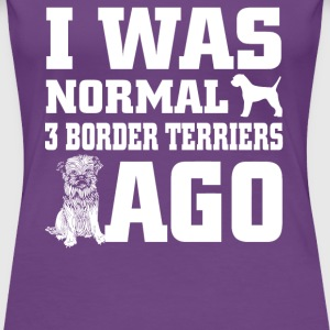 Border Terriers - Women's Premium T-Shirt