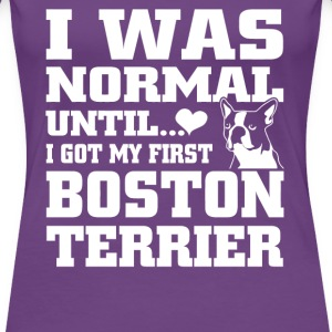 Boston Terrier - Women's Premium T-Shirt