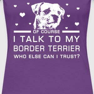 Border Terrier - Women's Premium T-Shirt