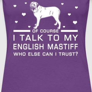 English Mastiff - Women's Premium T-Shirt