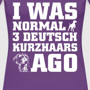 Deutsch Kurzhaars - Women's Premium T-Shirt