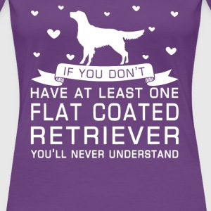 Flat Coated Retriever - Women's Premium T-Shirt