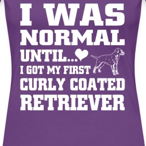 Curly Coated Retriever - Women's Premium T-Shirt