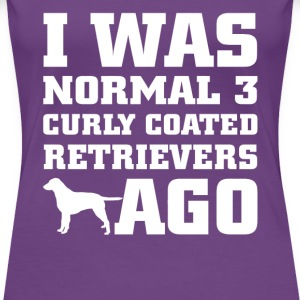 Curly Coated Retrievers - Women's Premium T-Shirt