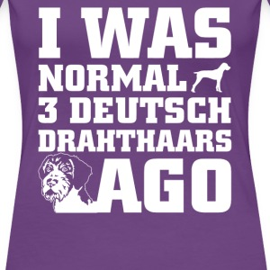 Deutsch Drahthaars - Women's Premium T-Shirt