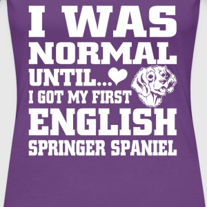 English Springer Spaniel - Women's Premium T-Shirt