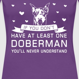 Doberman - Women's Premium T-Shirt